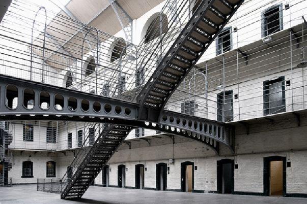 Interior de una cárcel española