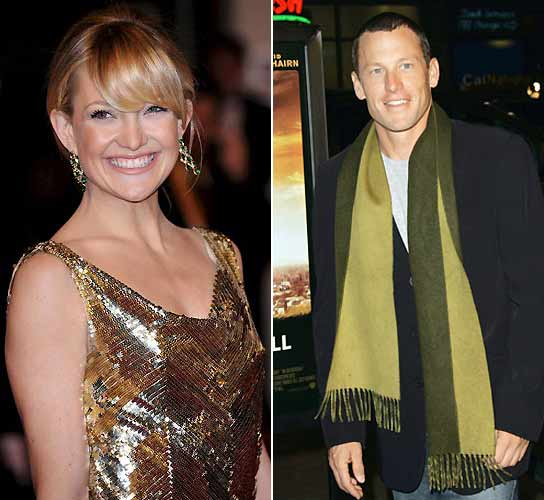 Kate Hudson y Lance Armstrong
