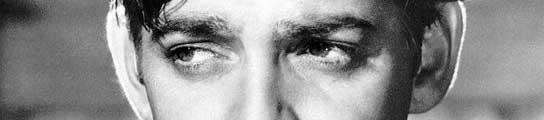 El legendario actor Clark Gable, en una de sus películas.