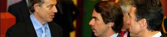Blair y Aznar