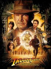 Indiana Jones y el Reino de la Calavera de Cristal - Cartel