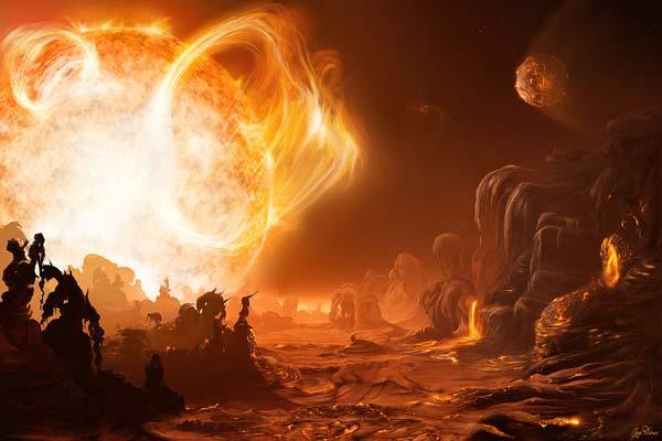 La peligrosa salida del sol en Gliese