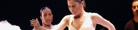 Sara Baras en uno de sus espectáculos
