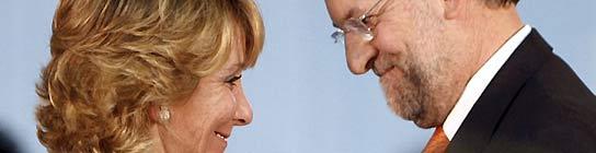 Aguirre asegura que Rajoy ganará en 2010 unas elecciones adelantadas por la crisis