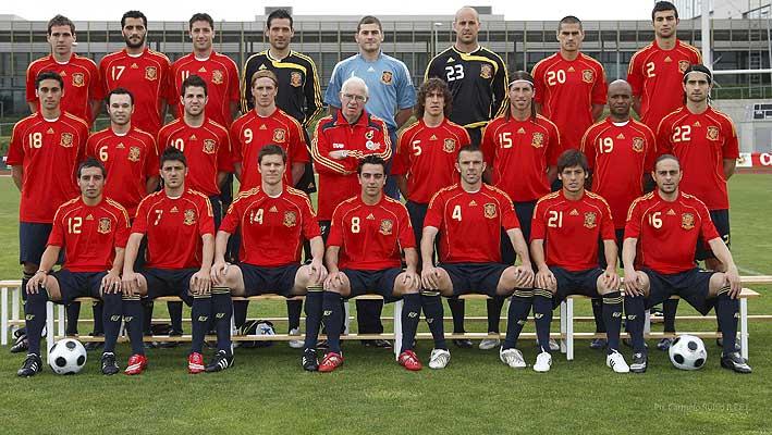 5eccdf4ac6018 La selección española de fútbol