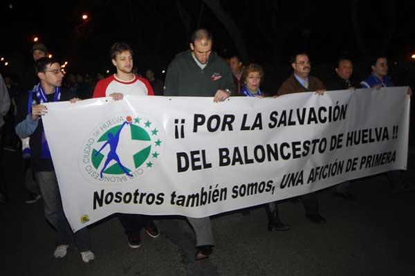 Manifestación CB Huelva
