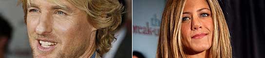 Owen Wilson y Jennifer Aniston.