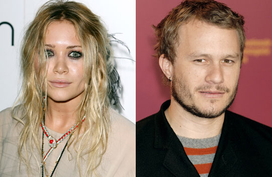 Mary Kate Olsen y Heath Ledger