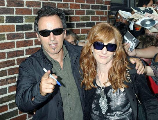 Bruce Springsteen y Patti Scialfa