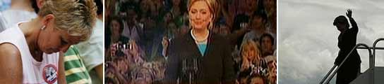 Hillary Clinton, en su adiós