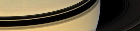 Los anillos de Saturno desde el otro lado