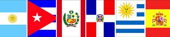 Las seis banderas más votadas hasta el momento