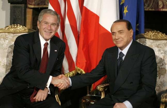 Bush visita Roma