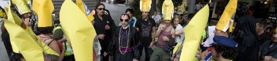 Procesión apostásica en Barcelona.