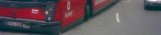 Autobús pinchado
