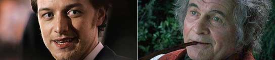 James McAvoy e Ian Holm.