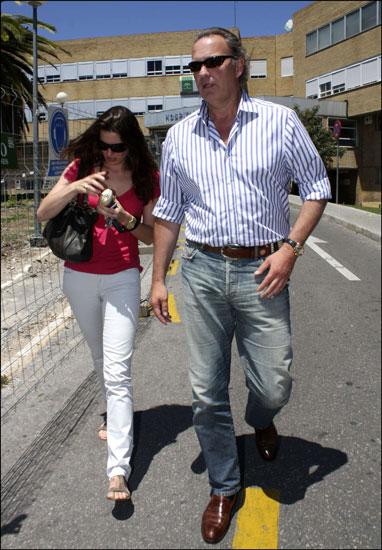 Bertín Osborne y su esposa Fabiola