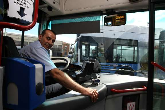 Domingo, conductor de la EMT