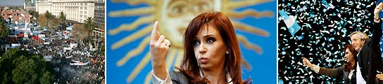 Cristina Fernández anuncia la nacionalización de Aerolíneas Argentinas