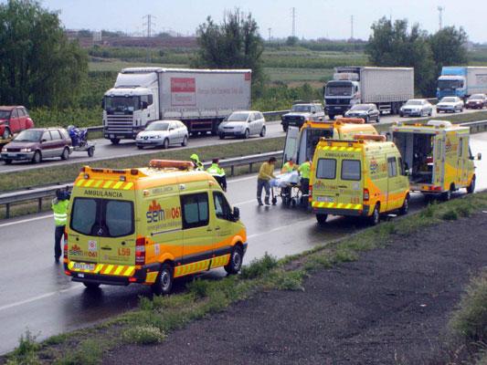 Fotos de ambulancias en accidentes 81