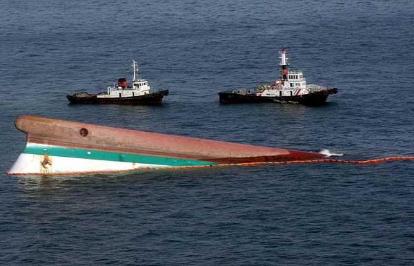 Ferry hundido en Filipinas.