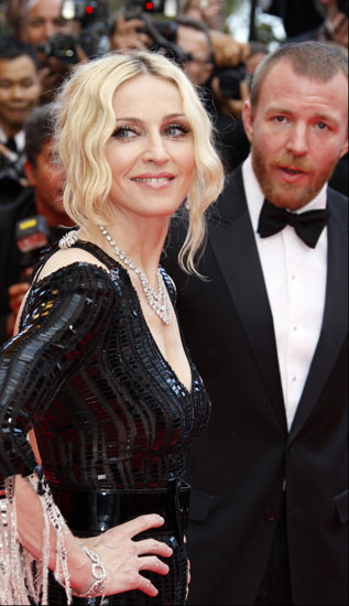 Madonna y Guy Ritchie en Cannes