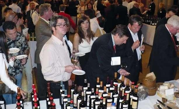 Muestra de vinos en Nueva York