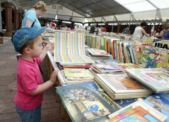 Mercado del libro Solidario de Getxo
