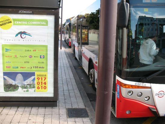 Buses en Gijón