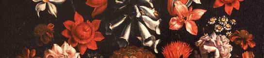 'Jarrón con grutescos y flores', de Giacomo Recco.