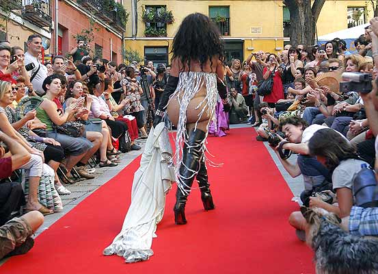 Desfile de prostitutas en Chueca