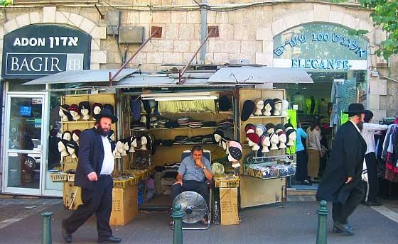 Barrio de Meh Sharim, en Jerusalén