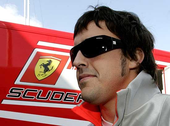 Alonso. Ferrari.