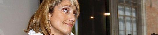 Montserrat Nebrera en el Parlament.