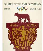 Cartel Roma 1960
