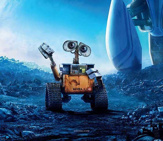 Cartel de 'Wall-E', lo nuevo de Pixar.
