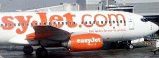 Avion de la compañía Easyjet