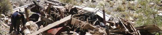 Accidente de autobús en Bolivia