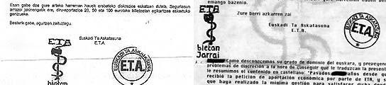 La banda terrorista ETA logra que 4.000 empresarios ya hayan cedido a la extorsión