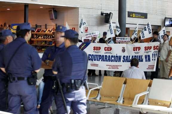 Huelga de celo de la Policía Nacional