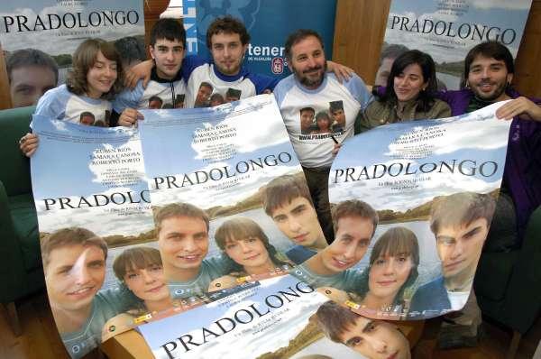 El filme 'Pradolongo' se proyecta por primera vez en alta definición al aire libre