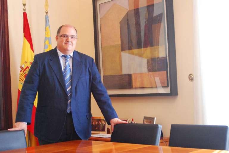 Fernando de Rosa, conseller de Justicia y Administraciones Públicas de la Comunitat Valenciana.