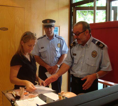 La Policía local de Salou crea una unidad de participación para acercarse a la ciudadanía