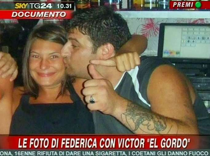 Federica Squarisi y 'El Gordo'
