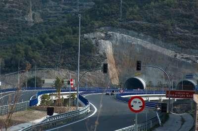 Autovía de Nerja a Almuñécar