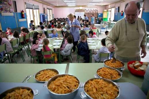 El 10 6 De Los Ni Os Almuerza En El Colegio Y El 85 7