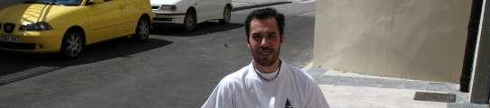 Nacho Robles, discapacitado asturiano