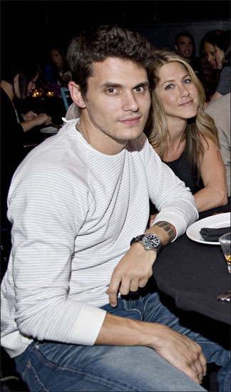 Jennifer Aniston y John Mayer