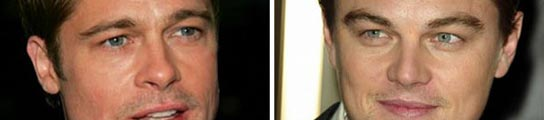 Brad Pitt y DiCaprio