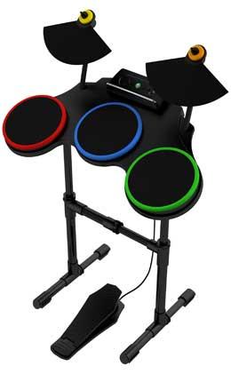 Batería del nuevo Guitar Hero.